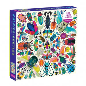 Jigsaw Puzzles of Beetles