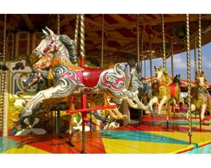 Jigsaw Puzzle of Carousel