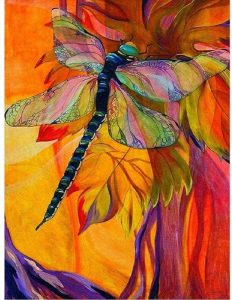 Jigsaw Puzzle of Dragonfly