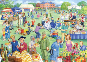 Jigsaw Puzzle of Summer Fete