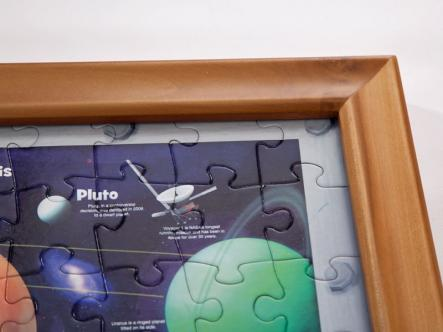 Wooden jigframe - easy to change puzzles
