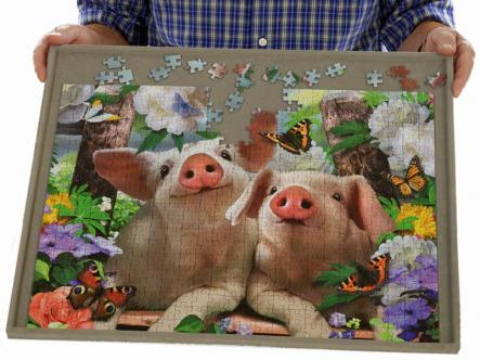 Jigsaw board - portable