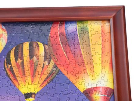 Jigsaw Puzzle Wooden frame - easy to change puzzles