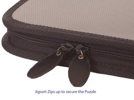 Jigsaw puzzle holder - everything packs away