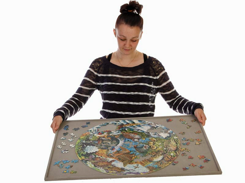 Jigsaw puzzle board - portable