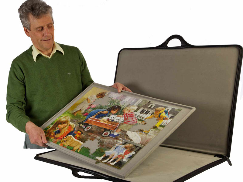 Jigsort Jigsaw Puzzle Case Carrier Organizer Holder And