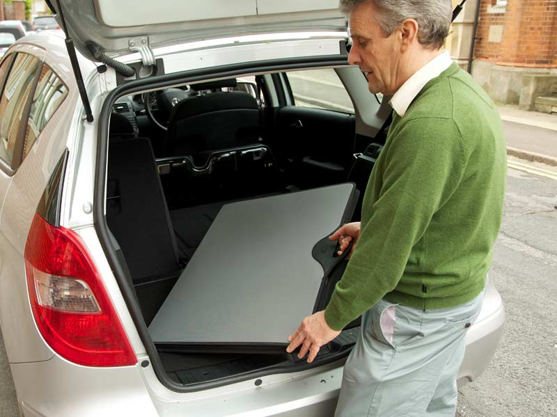 Jigsaw puzzle case - easy to transport