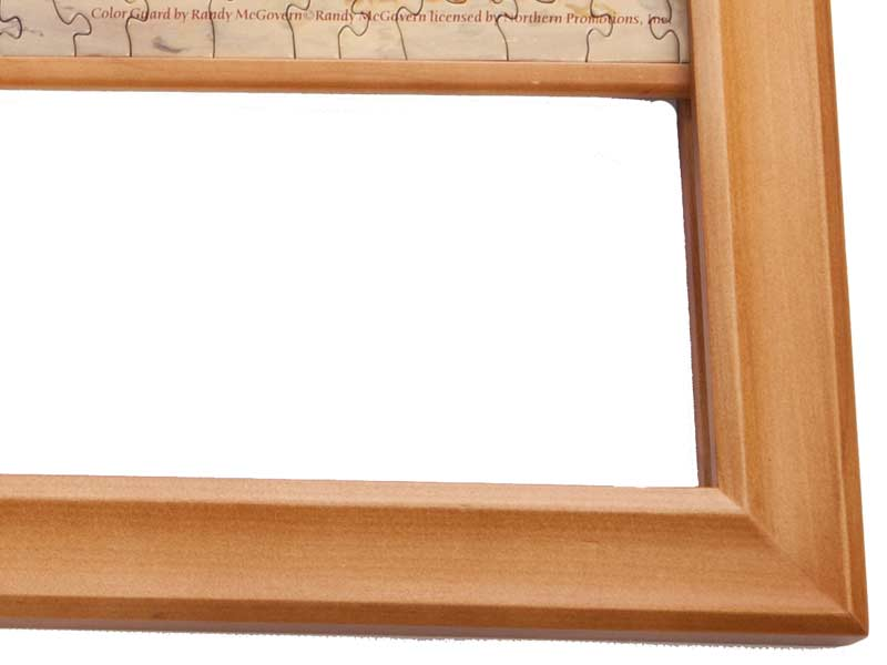 Puzzle Frame | Light Wood | for Small 1000 Piece Jigsaws