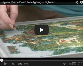 Jigsaw board from Jigthings
