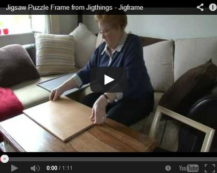 Jigsaw Puzzle Frames In Many Sizes Made From Wood